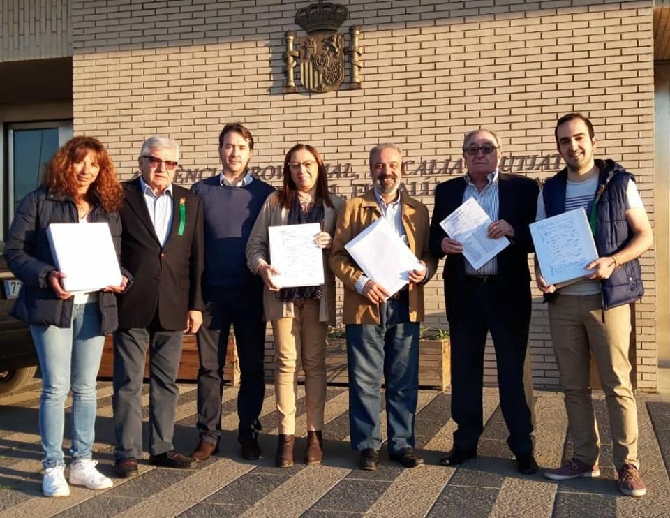 VOX Castellón presenta candidatura a las Cortes Valencianas