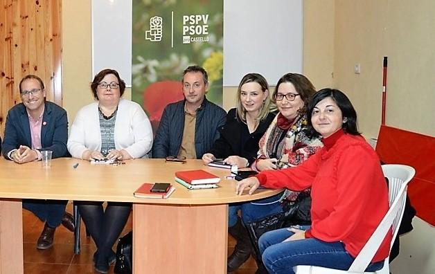 El PSPV-PSOE destaca que ha incluido en sus listas a las personas más idóneas para la coyuntura actual