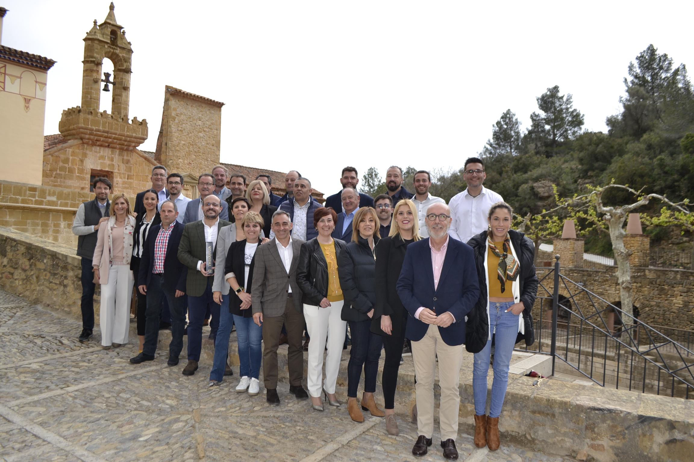 El PP es el único partido que presenta candidatos en los 135 municipios de Castellón
