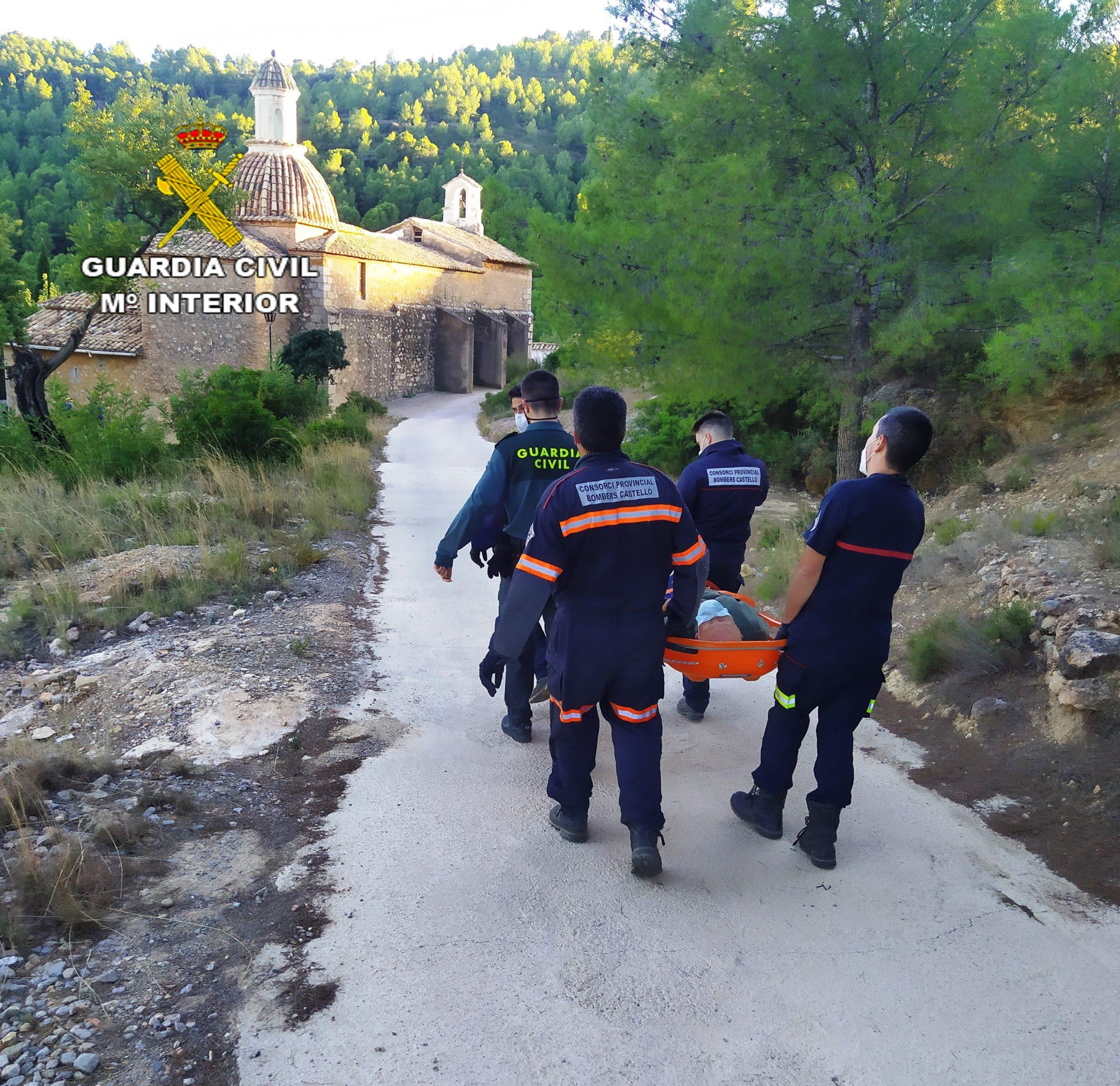 La Guardia Civil localiza y rescata a una persona de edad avanzada desaparecida en L´Alcora