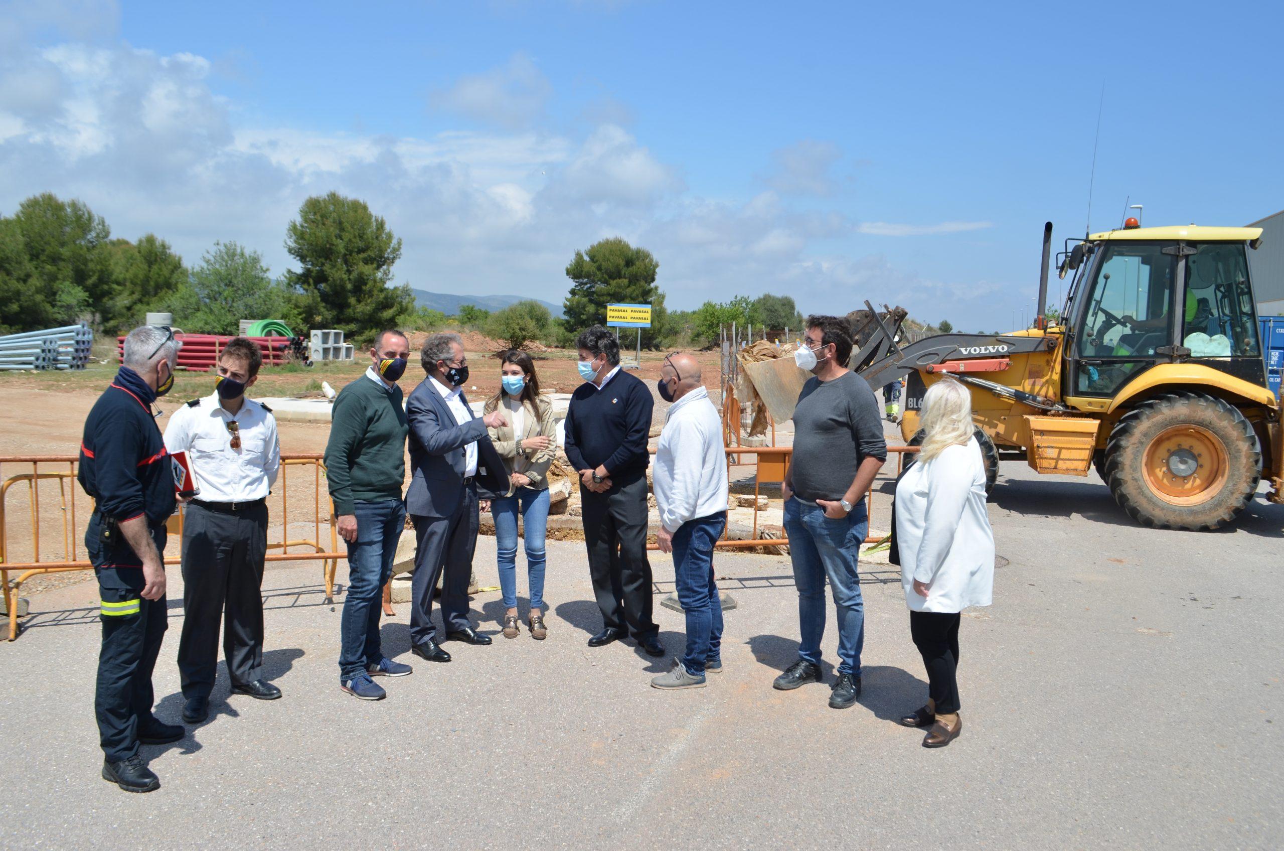 La Diputación invertirá 2 millones de euros en el nuevo parque de bomberos de Oropesa del Mar