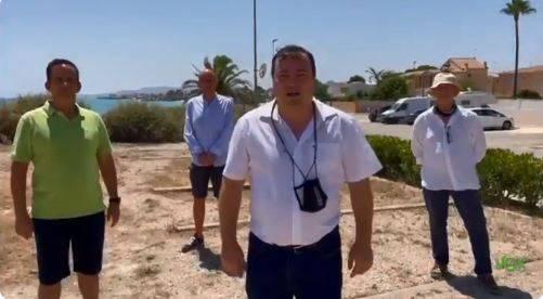 VOX Vinaroz se une a las reivindicaciones de los vecinos de la costa sur