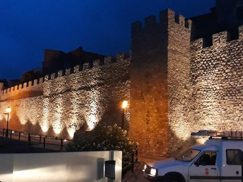 Segorbe renueva la iluminación de la muralla