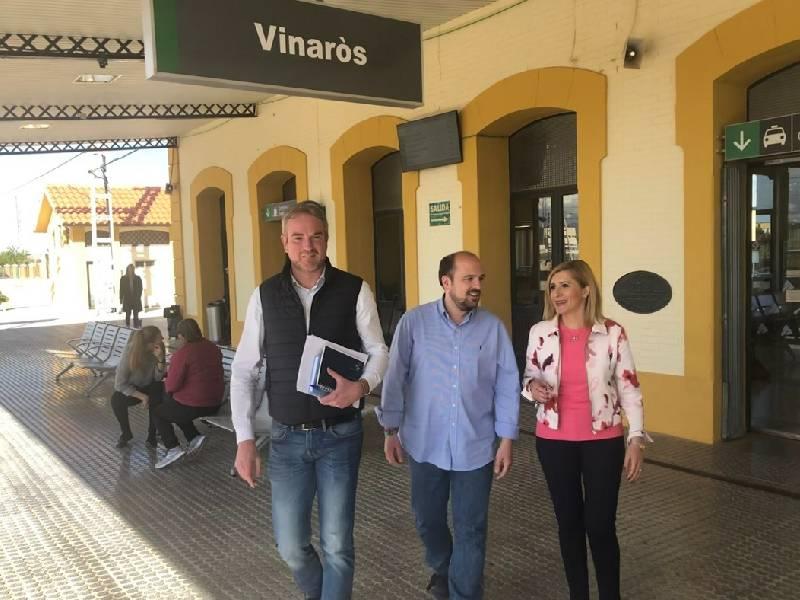 El PP acusa al alcalde Vinaroz de actitud pasiva ante RENFE