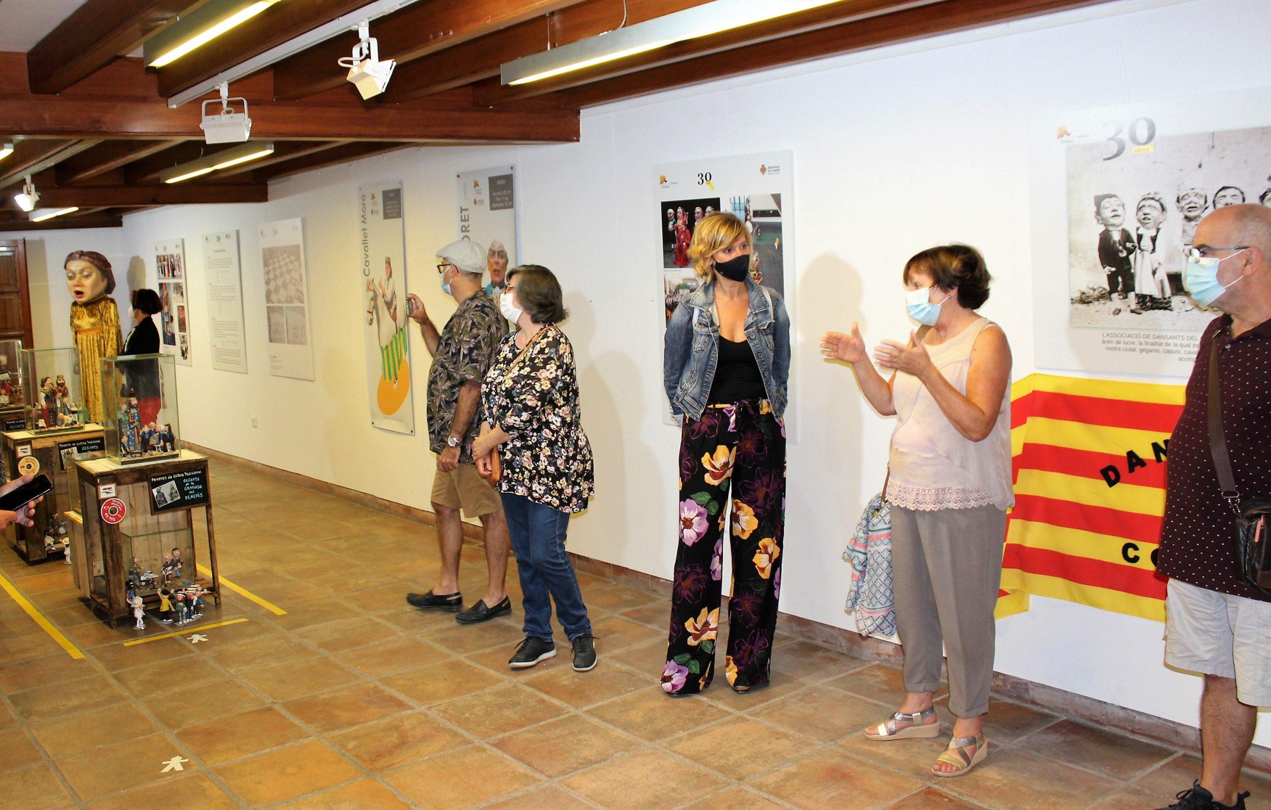 Cultura celebra 30 años de Dansants del Corpus con una exposición
