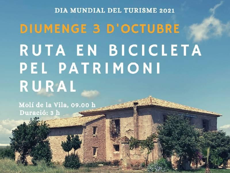Vila-real conmemora el Día Mundial del Turismo con una ruta en bicicleta por el patrimonio rural