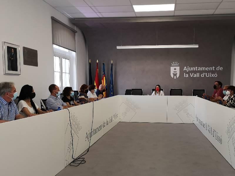 El Ayuntamiento de la Vall d'Uixó inicia el curso político sentando las bases del presupuesto municipal de 2022
