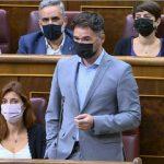 Rufián amenaza a Sánchez: «Si decepcionan, Vox y el PP entran en Moncloa»