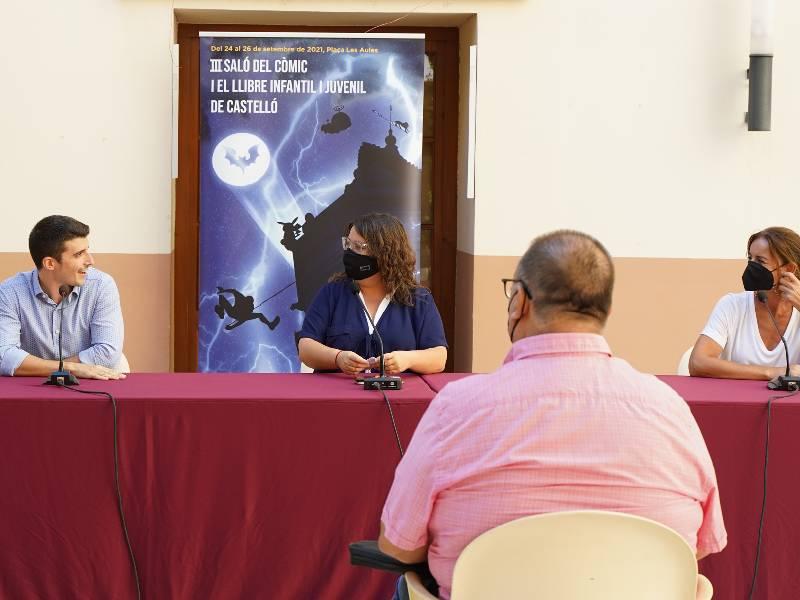 Castellón colabora con el III Salón del Cómic