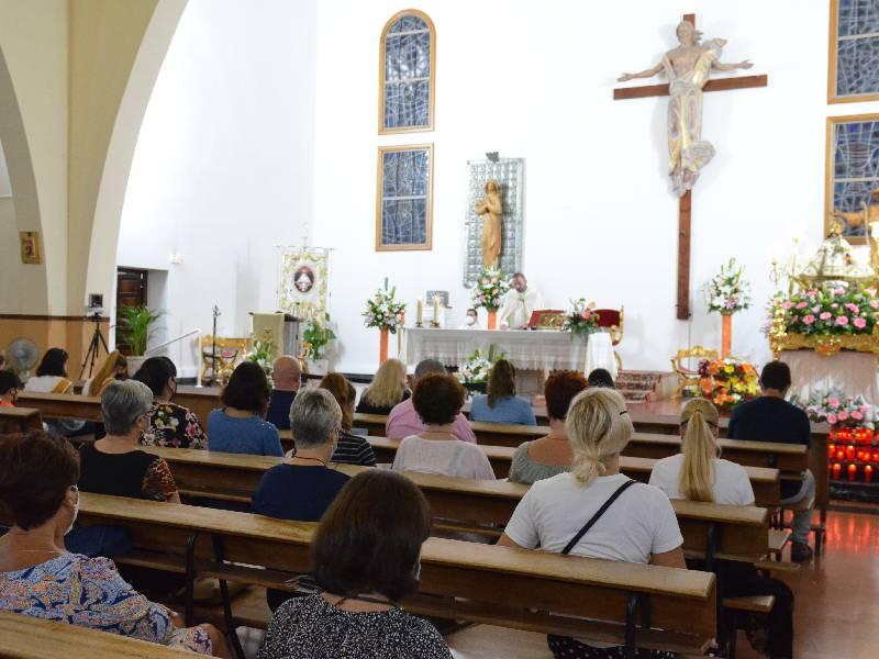 Oropesa del Mar honra a la Virgen de la Paciencia con el septenario
