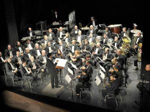 La Banda Municipal de Castellón suena en el Templete del Ribalta