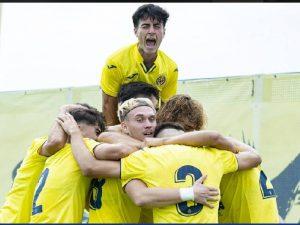 El juvenil amarillo se estrena con victoria en la Youth League (2-0)