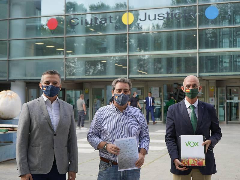 VOX denuncia al concejal socialista de Mislata, Joaquín Moreno, por un delito de odio