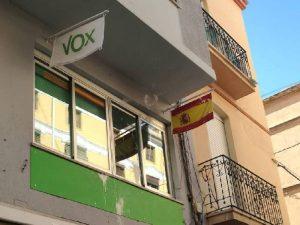 VOX reabre al público su sede provincial a partir de mañana