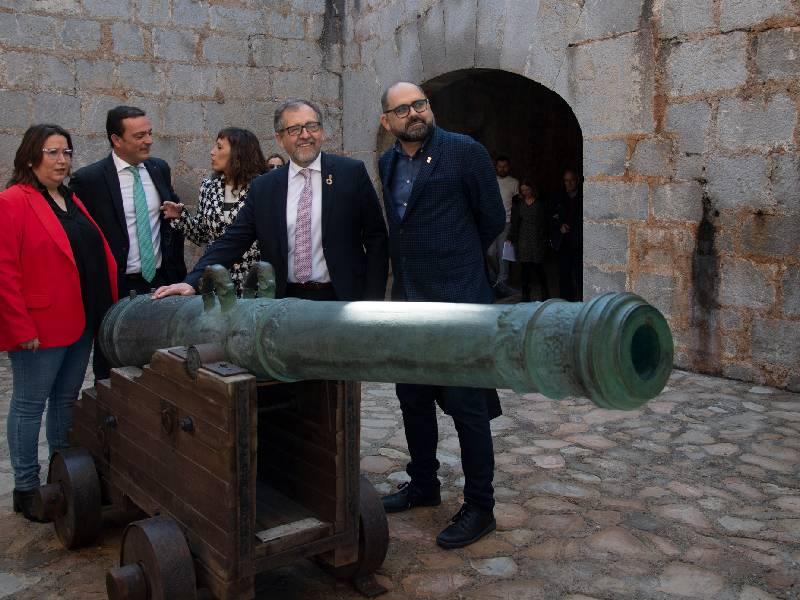 El Castillo de Peñíscola al borde del récord histórico de visitas en agosto con 60 mil entradas pese a las restricciones
