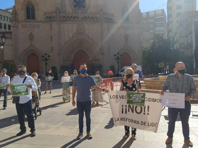 Los vecinos de la Avenida de Lidón retoman las protestas