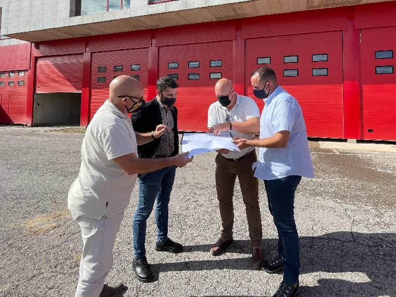 La Diputación adjudica la obra del parque de Protección Civil de l'Alcora y fija la apertura para 2022