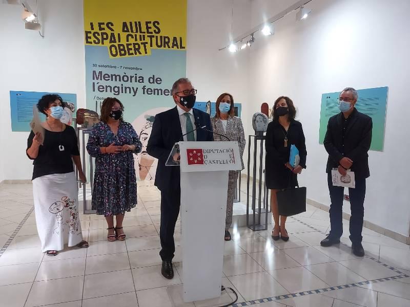La Diputación homenajea con la exposición 'Memòria de l'Enginy Femení' a las artistas invisibles de la historia