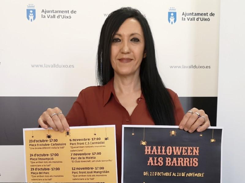 El Ayuntamiento organizará pintacaras y teatro infantil en los barrios de La Vall para 'Halloween'