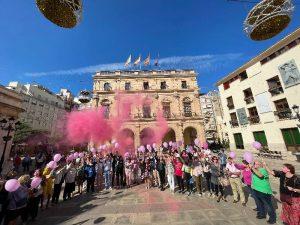 La Plaza Mayor acoge el Día Internacional del Cáncer de Mama