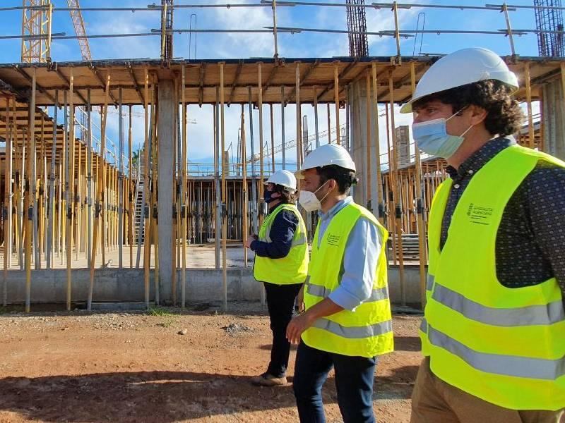 La conselleria quiere el IES Jaume I de Burriana terminado en primavera