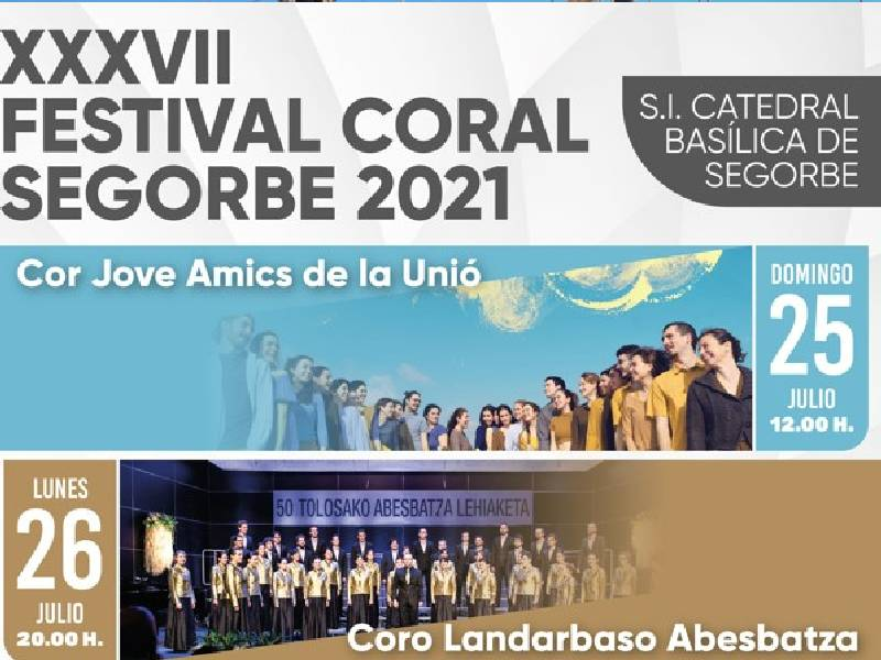 Segorbe celebra la segunda fase del XXXVII Festival Coral