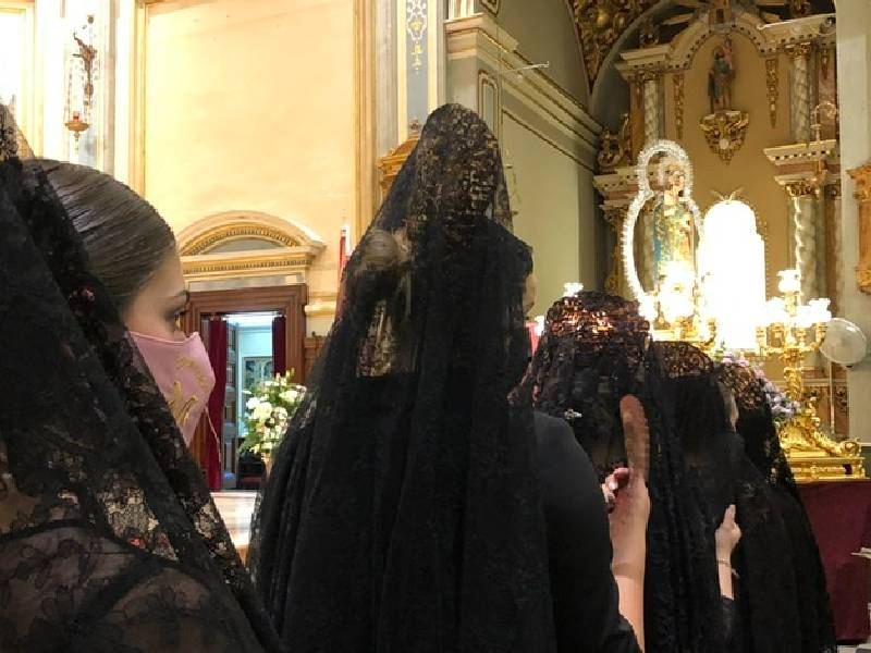 Almassora recupera la procesión del Roser en su día grande