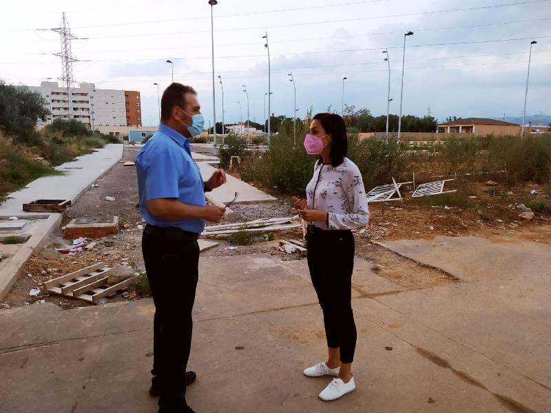 El PP denuncia el abandono de los barrios