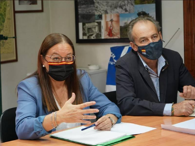 """Llanos Massó (VOX): """"Estamos convencidos que el veto de la conselleria a la caza con 'cesto de malla' es un veto ideológico"""""""