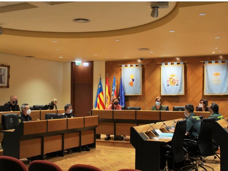 Burriana reforzará la seguridad durante los días de la celebración de las Fallas 2021, del 8 al 12 de octubre
