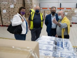 José Martí destaca el trabajo solidario de los voluntarios del Banco de Alimentos en favor de las personas que necesitan ayuda para subsistir