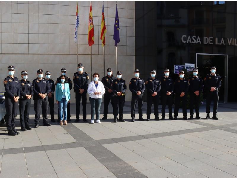La Policía Local de Onda suma 10 agentes más a su plantilla y prevé llegar a más de 60 en 2023