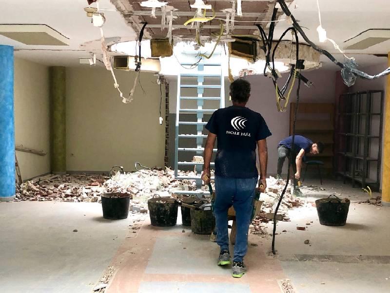 Almassora inicia la remodelación del Ateneu Jove con 148.000€ cofinanciados por FEDER