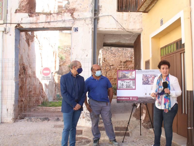 El Ayuntamiento reconstruirá la fachada de la casa que se derrumbó en la plaza San Cristóbal en 2019