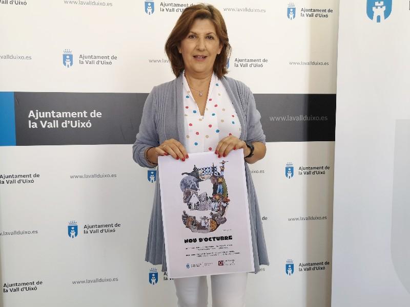 El Ayuntamiento de la Vall d'Uixó presenta los actos para celebrar el 9 d'Octubre
